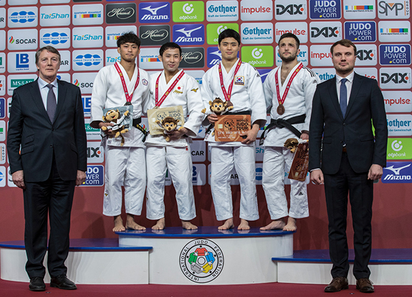 Düsseldorf Grand Slam Day 1: Judo's greatest double act